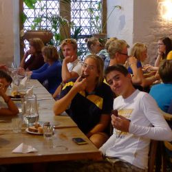 Cena all' Oxford Tennis Camp